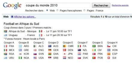Coupe du monde de foot vues 3d et street view dans les stades - Resultat coupe du monde 2010 ...