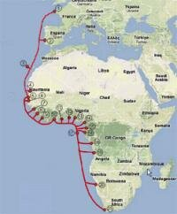 Alcatel-Lucent cable sous-marin France Afrique du