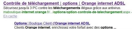 hadopi controle téléchargement orange