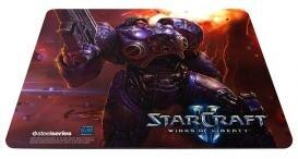 Steelseries tapis de souris starcraft II
