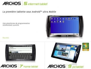 archos copie privée