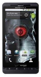 Motorola Droid X Android Eclair