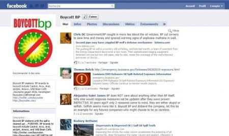 Boycott BP Facebook