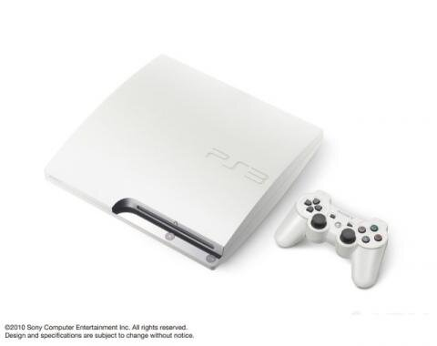 PS3 Slim blanche