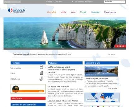 france.fr site officiel tourisme vivre économie