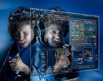 jeu video  addiction pause