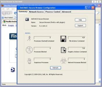 dell kace secure browser firefox