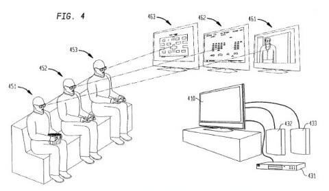 Sony Brevet 3D