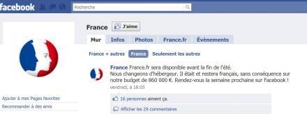 france.fr hébergement