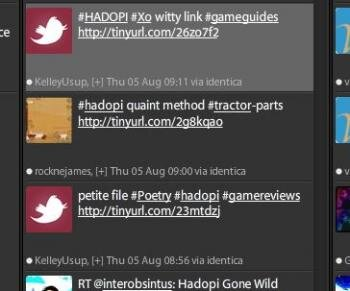 hashtag hadopi twitter spam