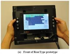 RearType Microsoft prototype
