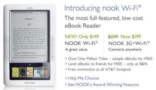 Nook Barnes Noble WiFi