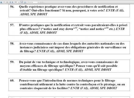 filtrage consultation LCEN