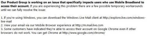 Microsoft recommande Chrome