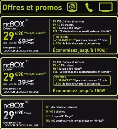 Numericable NCBox Premium Power