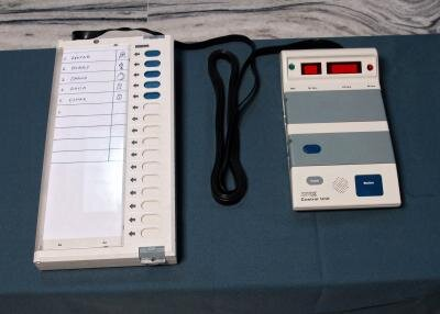 machine à voter Inde
