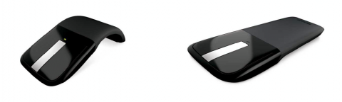 Microsoft Arc Touch souris blue track