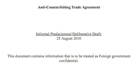 ACTA draft 25 aout