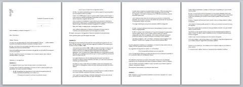 hadopi modèle lettre défense internaute mail
