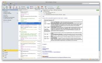 mac office outlook 2011