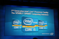 Intel IDF Day 1 Architecture Sandy Bridge