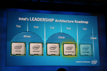 Intel IDF Day 1 Sandy Bridge
