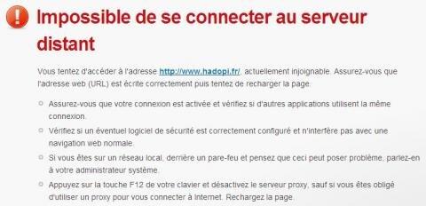 Hadopi DDOS