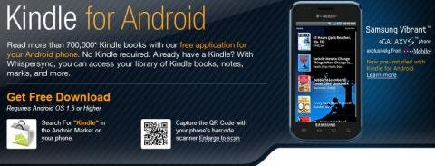 Amazon Kindle for Android