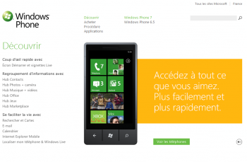 windows phone portail