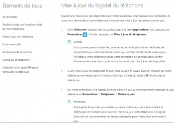 windows phone 7 portail