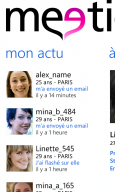 meetic windows phone 7