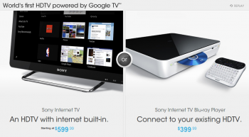 sony google tv