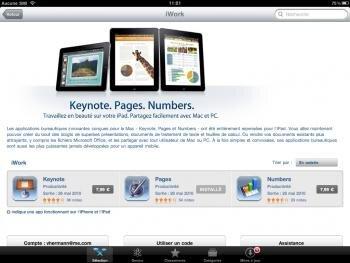 iwork app store