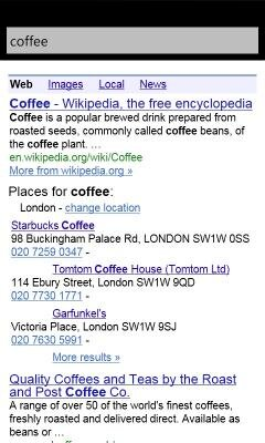 google search windows phone 7