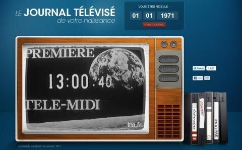 journal télévisé archives INA dailymotion
