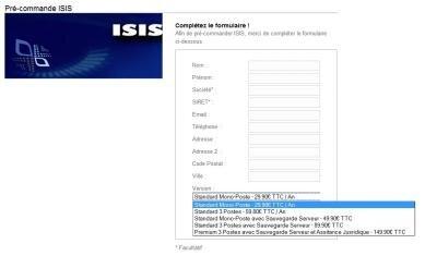 H2DS ISIS moyen de sécurisation