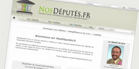 nosdeputes.fr députés absence activité