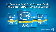 Sandy Bridge Intel Logo