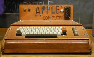 Apple I enchère Christie's