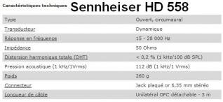 Sennheiser HD 558