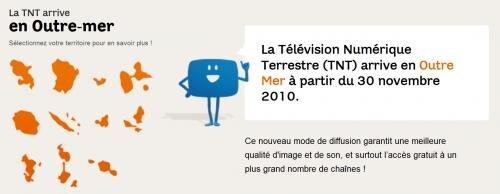 TNT HD outre-mer CSA MPEG-4 décodeur