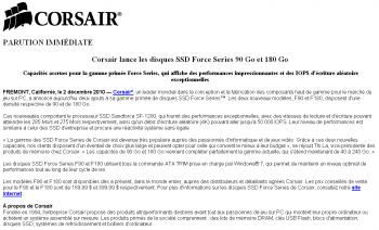 Corsair PR SSD