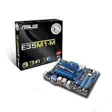Asus E35M1-M Pro micro ATX E-350