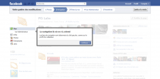 Facebook changement design pages