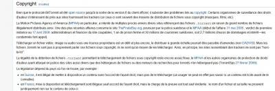 copyright P2P constat wikipedia bittorrent