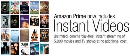 Amazon Prime Instant Videos Netflix