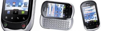 LG optimus Chat smartphone