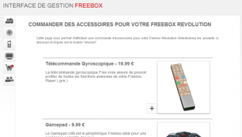 Boutique Freebox V6