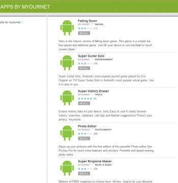 android market myournet