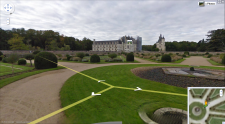 Google Street View Trike chateau france